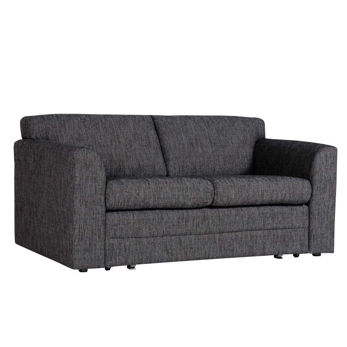 schlafsofa napoleon in grau porta porta m belshop. Black Bedroom Furniture Sets. Home Design Ideas