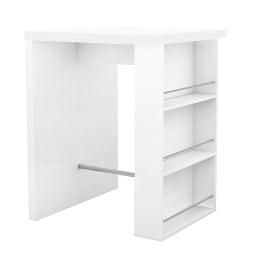 Bartisch BRACE Weiß ca. 85 x 110 x 85 cm