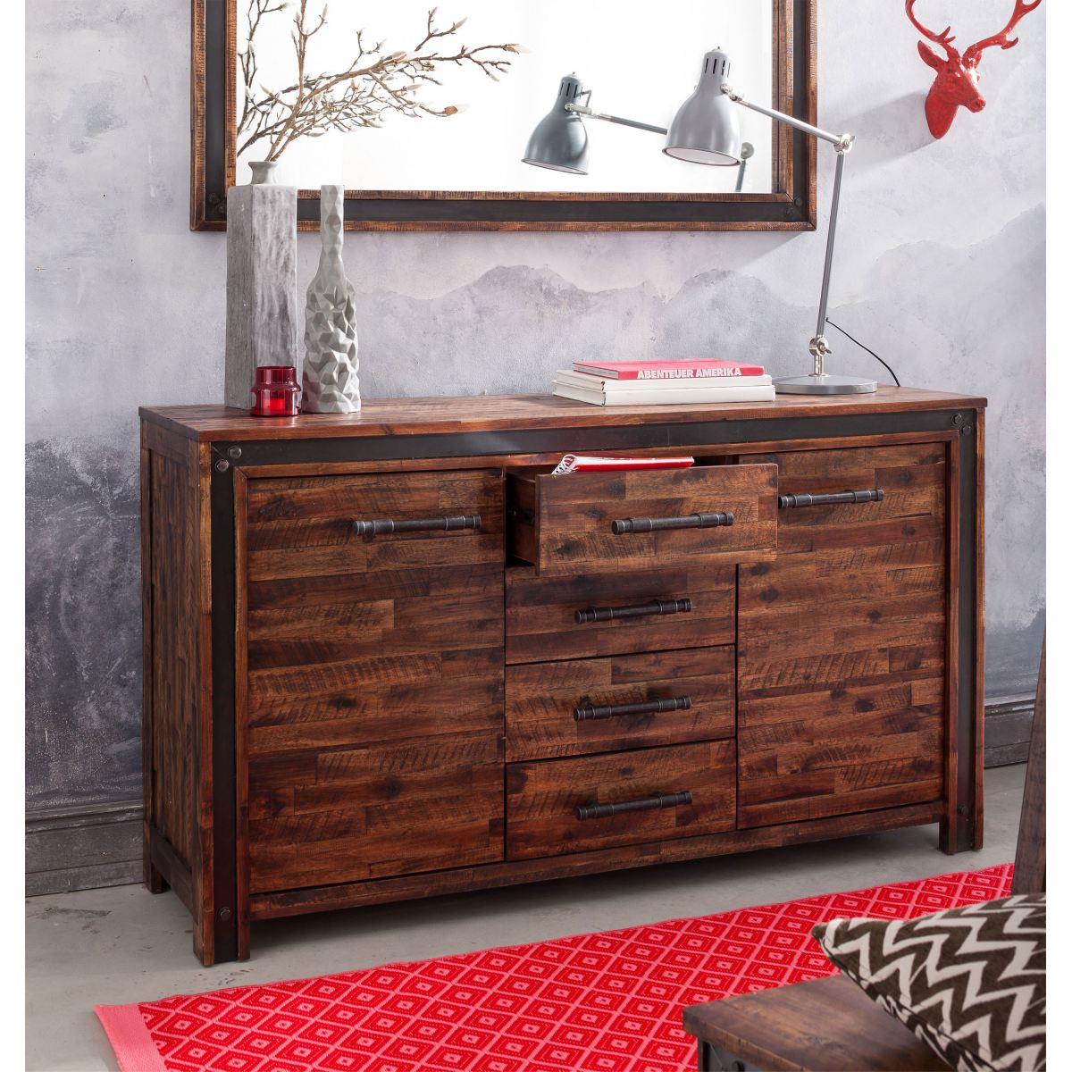 sideboard road porta porta m bel online kaufen. Black Bedroom Furniture Sets. Home Design Ideas