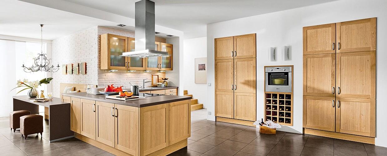 Amerikanische Küche - porta Küchenwelt