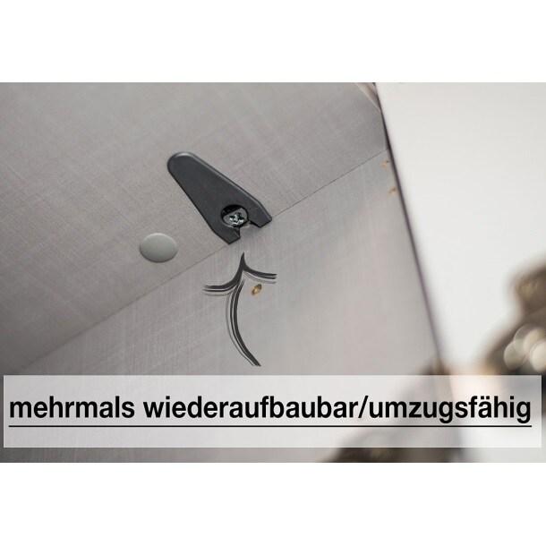 Kleiderschrank BUDDY 150 x 216 x 68 cm Nachbildung polarweißBild 8