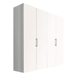 Kleiderschrank NEW JERSEY AD-I 200 x 58 cm Polarweiß /Polarweiß