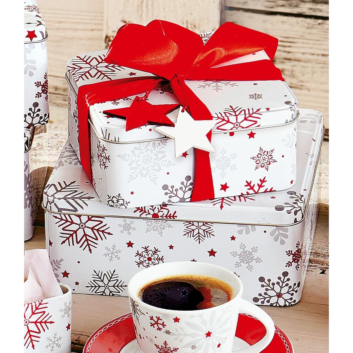 weihnachtsglanz by casanova weihnachten keksdose dose m. Black Bedroom Furniture Sets. Home Design Ideas