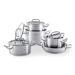 FISSLER Topf Set 5 teilig ORIGINAL PROFI COLLECTION Edelstahl 18/10