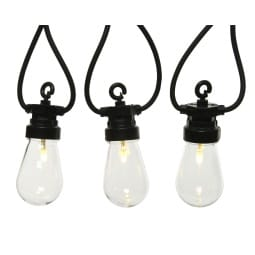 LED Partylichterkette BULB-STRING 20-flg