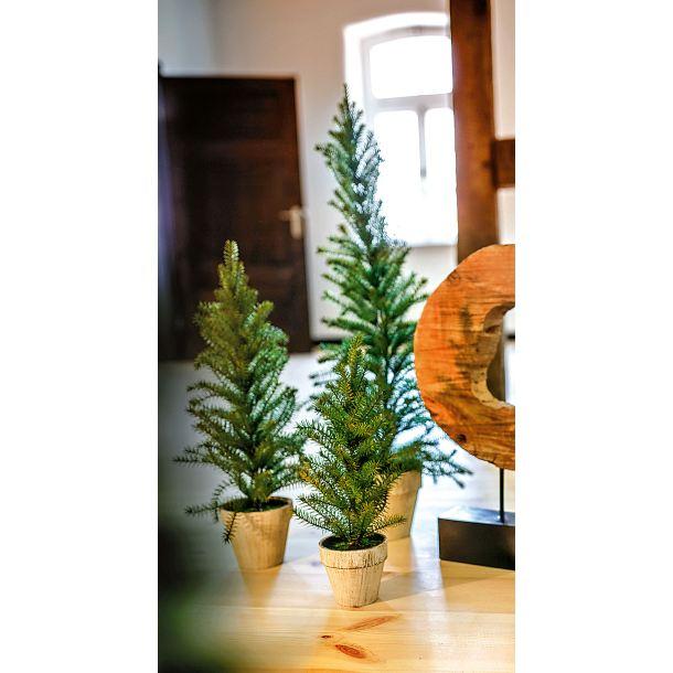 weihnachten k nstlicher tannenbaum im topf 55 cm porta. Black Bedroom Furniture Sets. Home Design Ideas