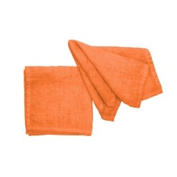 pichler Serviette LISKA 40 x 40 cm orange