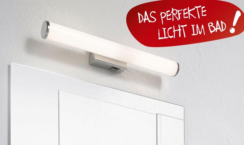 Badezimmerlampen kaufen » Badlampen | porta! Shop