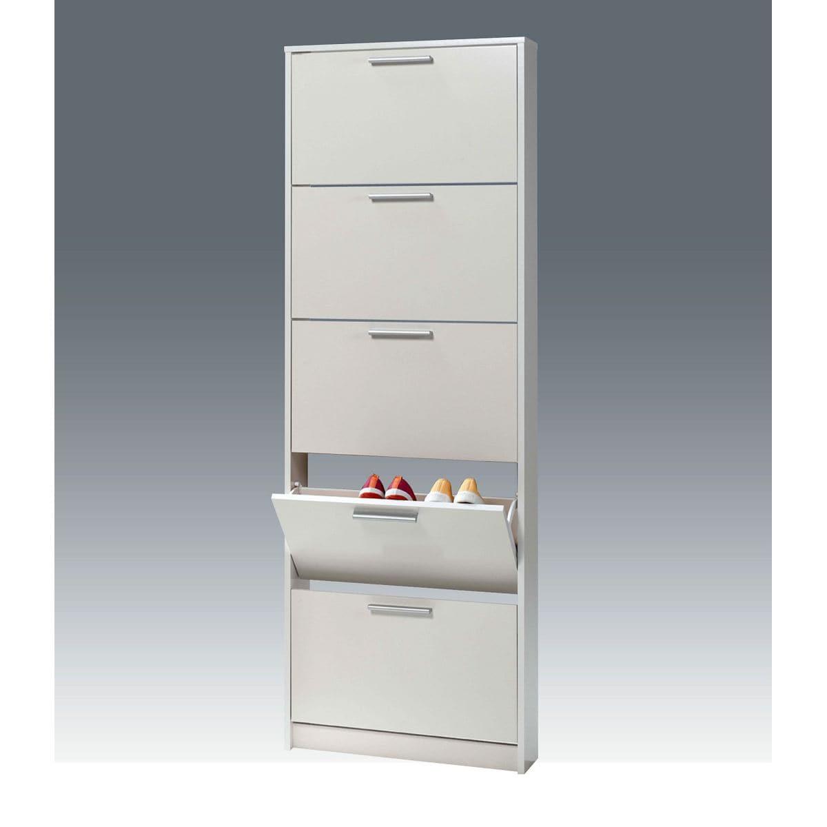 schuhschrank mini in wei porta porta m bel. Black Bedroom Furniture Sets. Home Design Ideas