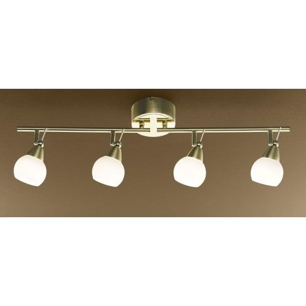 casanova led deckenlampe mit 4 spots hellas porta null. Black Bedroom Furniture Sets. Home Design Ideas
