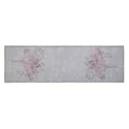 GÖZZE Tischläufer COOPER 40 x 140 cm rosa/grau