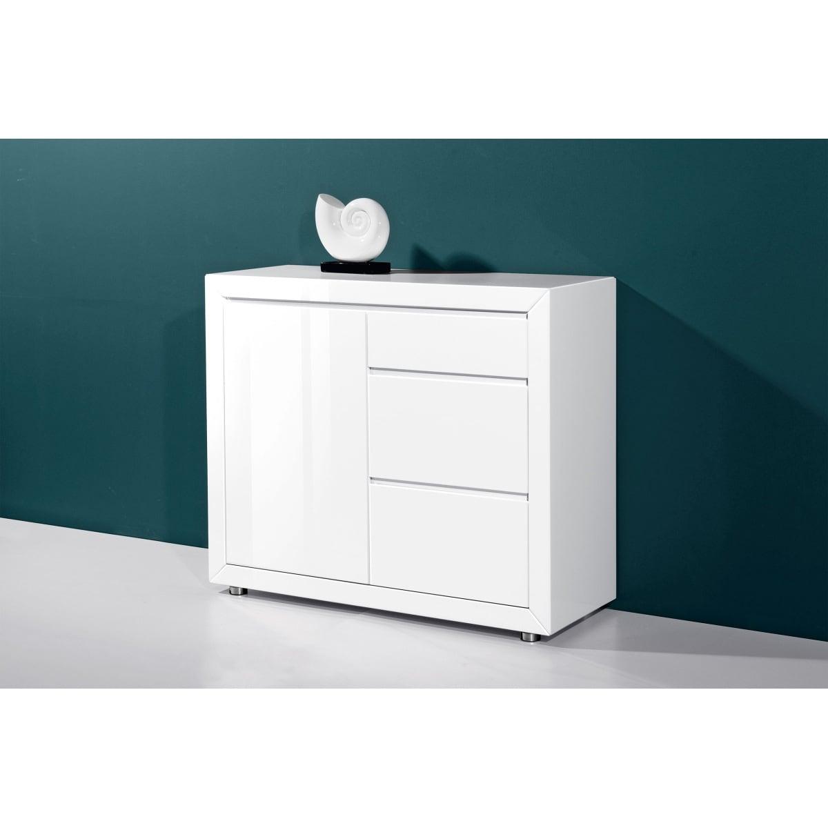 kommode in hochglanz wei porta porta m bel. Black Bedroom Furniture Sets. Home Design Ideas