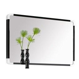 Spiegel Rahmen Schwarz Nachbildung ca. 90 x 57 x 6 cm