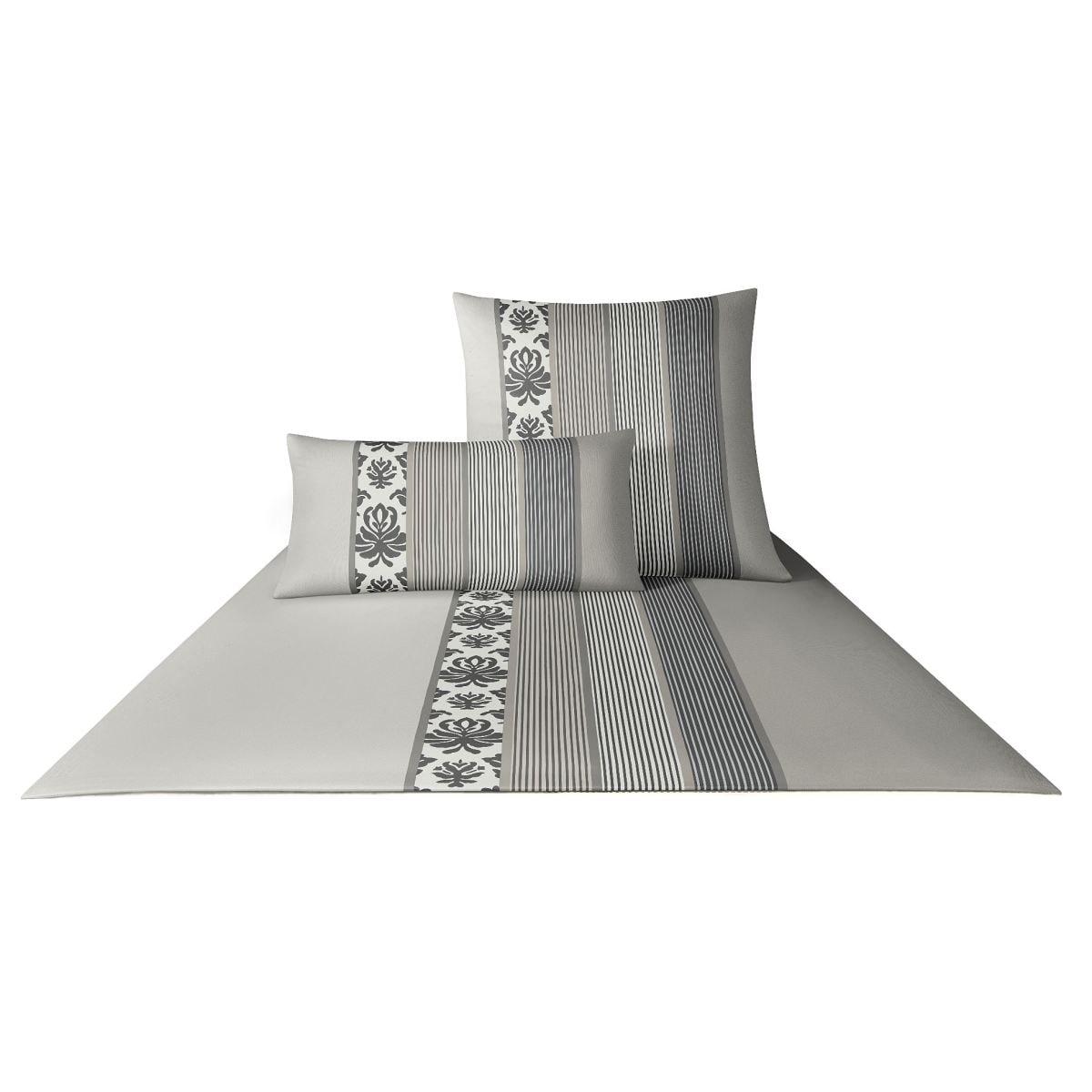 joop designer bettw sche ornament stripes graphit 135 x. Black Bedroom Furniture Sets. Home Design Ideas