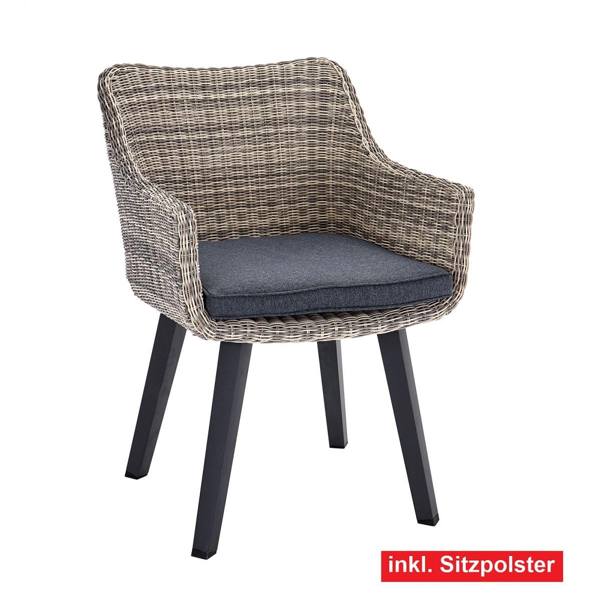 Verschiedene Polster Esszimmerstühle Dekoration Von Outdoor Stuhl /gartenstuhl Mit Armlehnen Und Galera