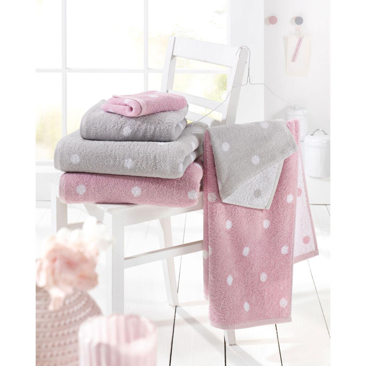 casanova handtuch punkte silber porta porta m bel. Black Bedroom Furniture Sets. Home Design Ideas