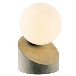NINO Retrofit Tischlampe ALISA Betonfarbig