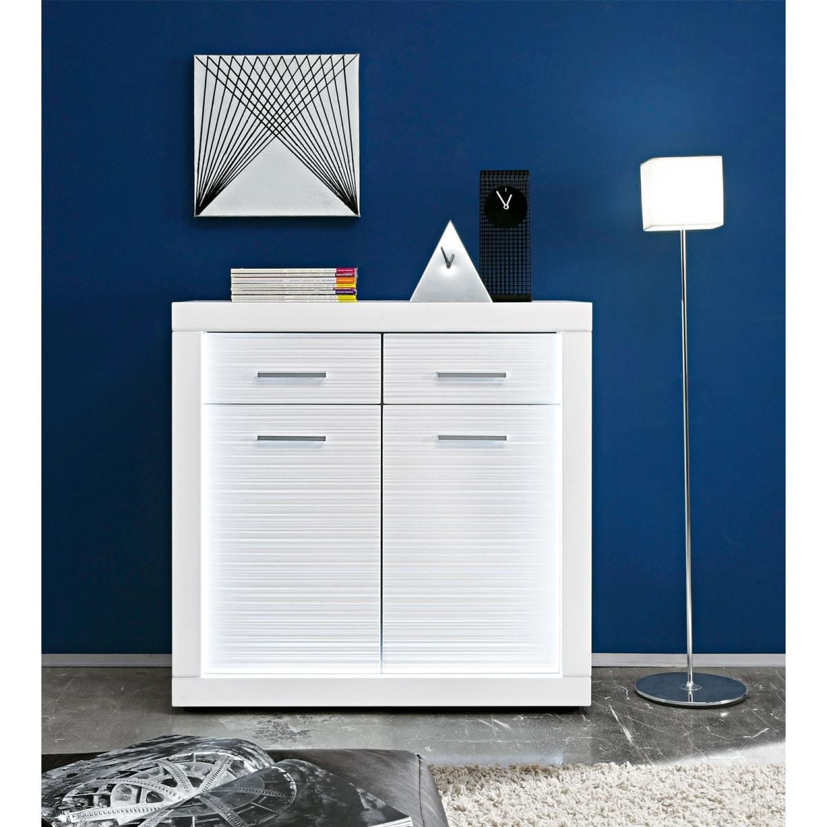 kommode starlight wei hochglanz ca 90 x 90 x 40 cm porta. Black Bedroom Furniture Sets. Home Design Ideas