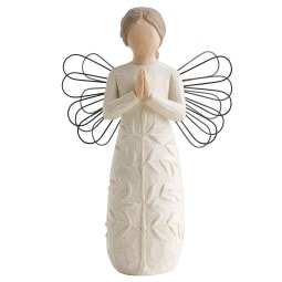 WILLOW TREE by enesco Dekofigur ENGEL ein BAUM, ein GEBET Angel Collection