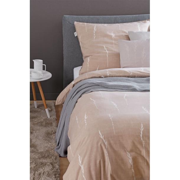 Schöner Wohnen Baumwolle Washed Cotton Bettwäsche Gras 155 X 220 Cm
