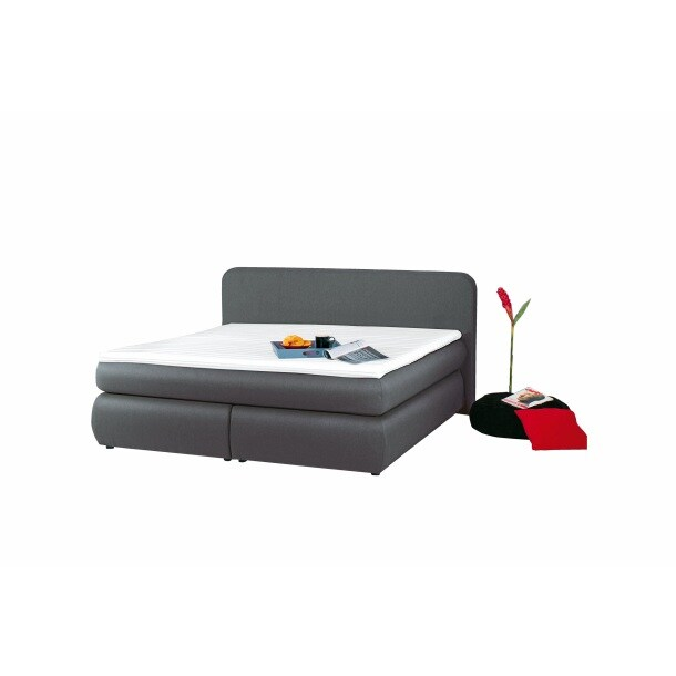 boxspringbett lea stoffbezug grau ca 180 x 200 cm porta. Black Bedroom Furniture Sets. Home Design Ideas