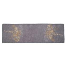 GÖZZE Tischläufer COOPER 40 x 140 cm gelb/grau