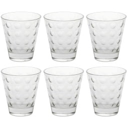 LEONARDO 6er Set Wasserglas OPTIC