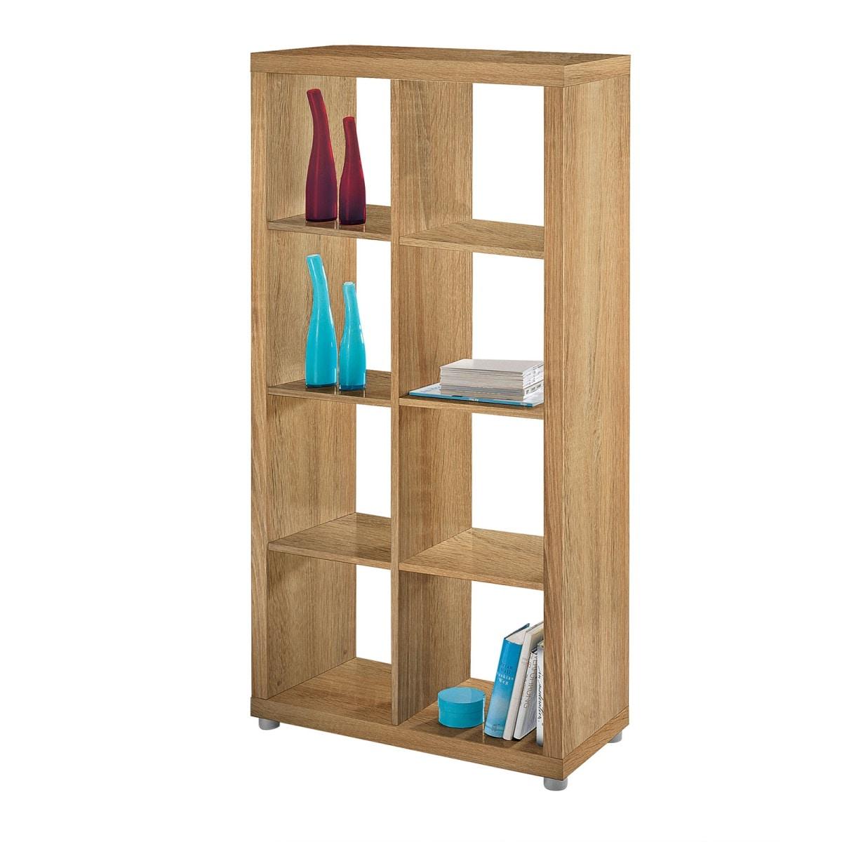 raumteiler karl eiche matt nachbildung ca 84 x 157 x 35. Black Bedroom Furniture Sets. Home Design Ideas