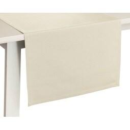 pichler Tischläufer COMO 50 x 150 cm weiß