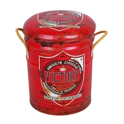 Phill Hill Hocker BARRELL 30 x 30 cm Victory Motorcycle Design