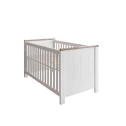 vito Kinderbett 91 x 146 x 82 cm Eiche Nachbildung weiß