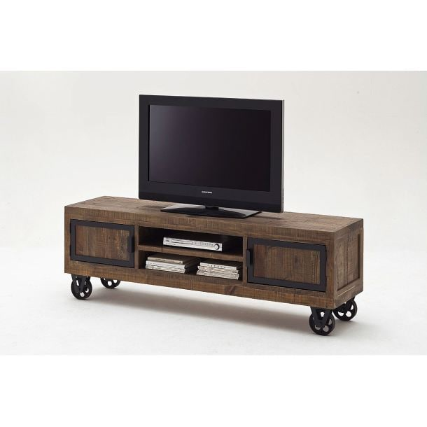tv m bel aus kiefer in antikem braun porta. Black Bedroom Furniture Sets. Home Design Ideas