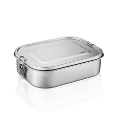 GEFU Lunchbox ENDURE 18 x 13,3 cm silberfarbig