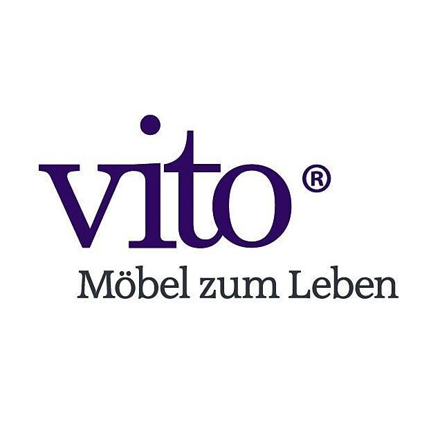 vito Drehstuhl VITO ART 48 x 41/53 x 48 cm Stoffbezug braun/schwarzBild 2