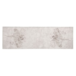 GÖZZE Tischläufer COOPER 40 x 140 cm braun/grau