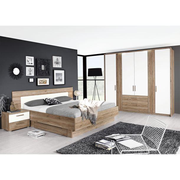 masano schlafzimmer in eiche san remo hell porta null. Black Bedroom Furniture Sets. Home Design Ideas