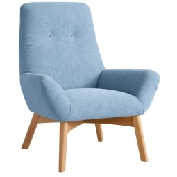 MONDO Sessel INGA Cosmopolitan lightblue