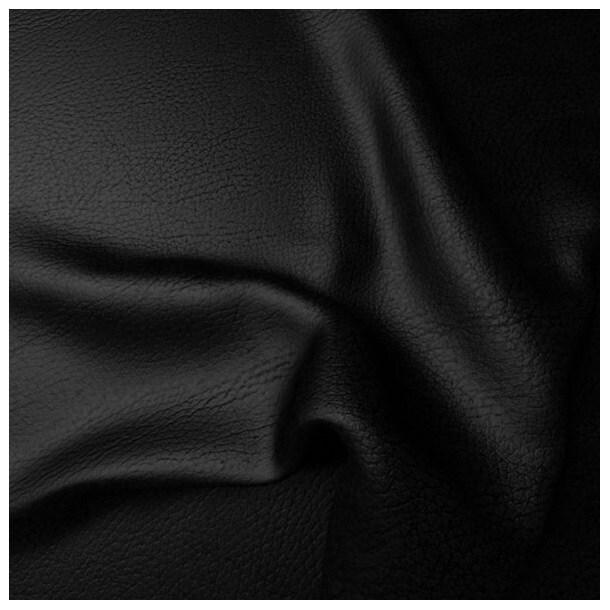 com4lux sofa garnitur 2 teilig lederbezug schwarz. Black Bedroom Furniture Sets. Home Design Ideas