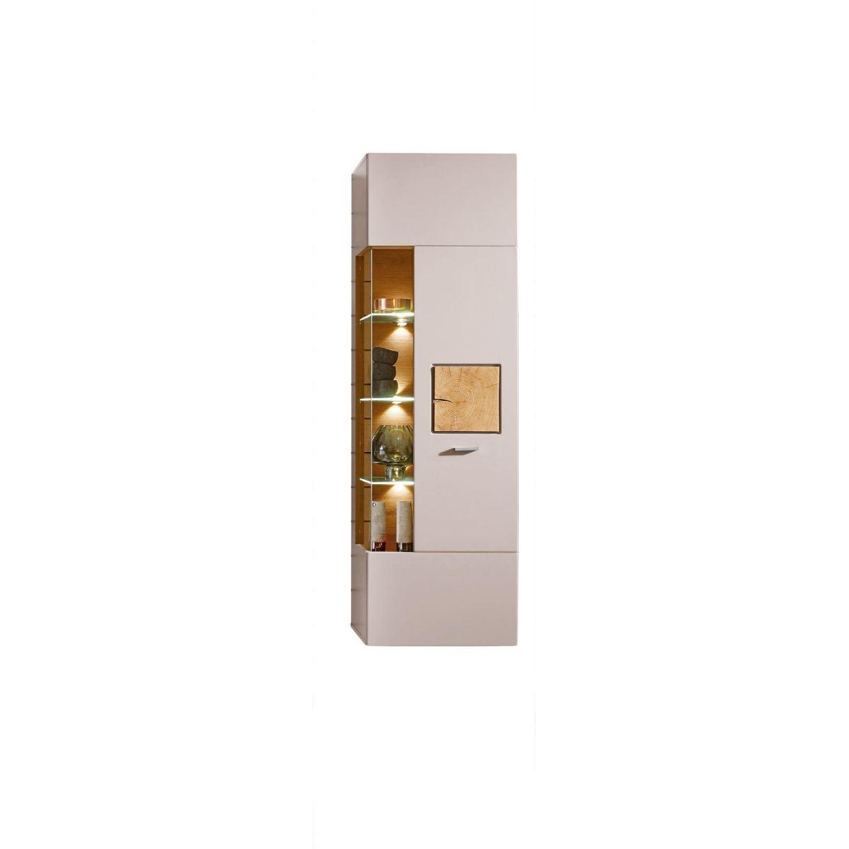Vito h ngevitrine maloni basalt eiche hirnholz ca 52 x for Porta online shop