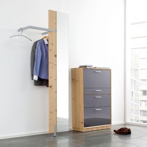 Garderobe aus ethno eiche porta porta onlineshop for Flur garderoben modern
