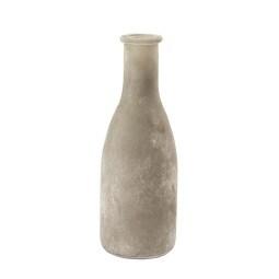 Sandra Rich Dekoflasche VINTAGE 18,5 cm Glas grau