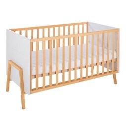vito Kinderbett 86,5 x 151 x 77 cm Massiv grau