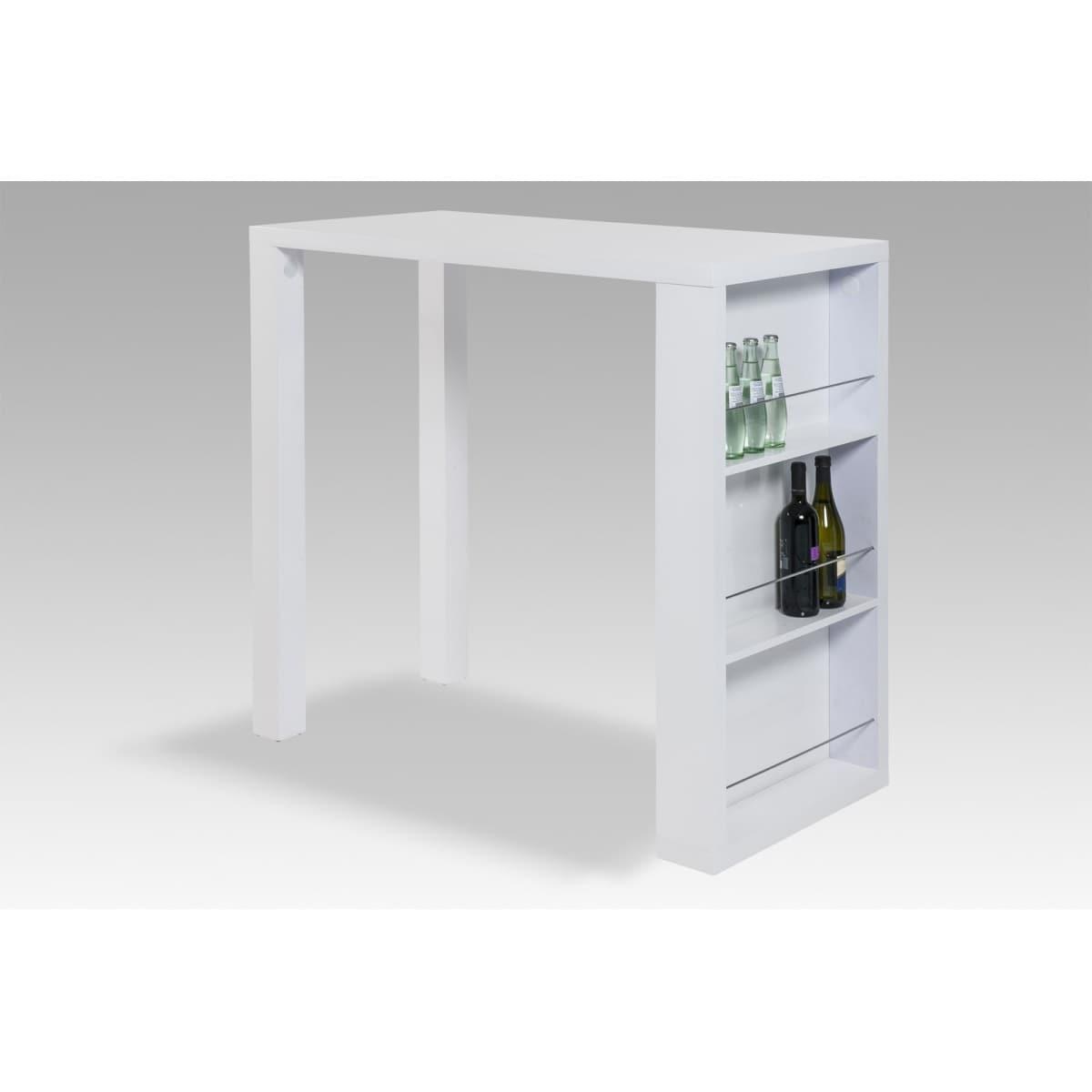 bartisch ike wei hochglanz ca 120 x 110 x 60 cm porta. Black Bedroom Furniture Sets. Home Design Ideas