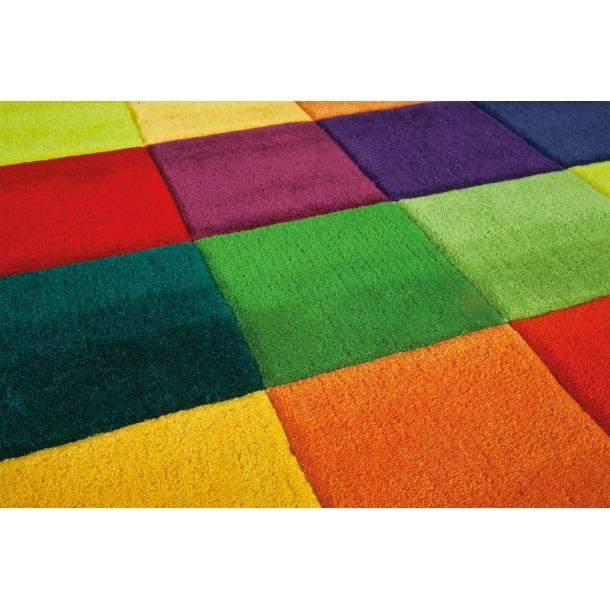 arte espina teppich joy color festival karo 90 x 160 porta. Black Bedroom Furniture Sets. Home Design Ideas