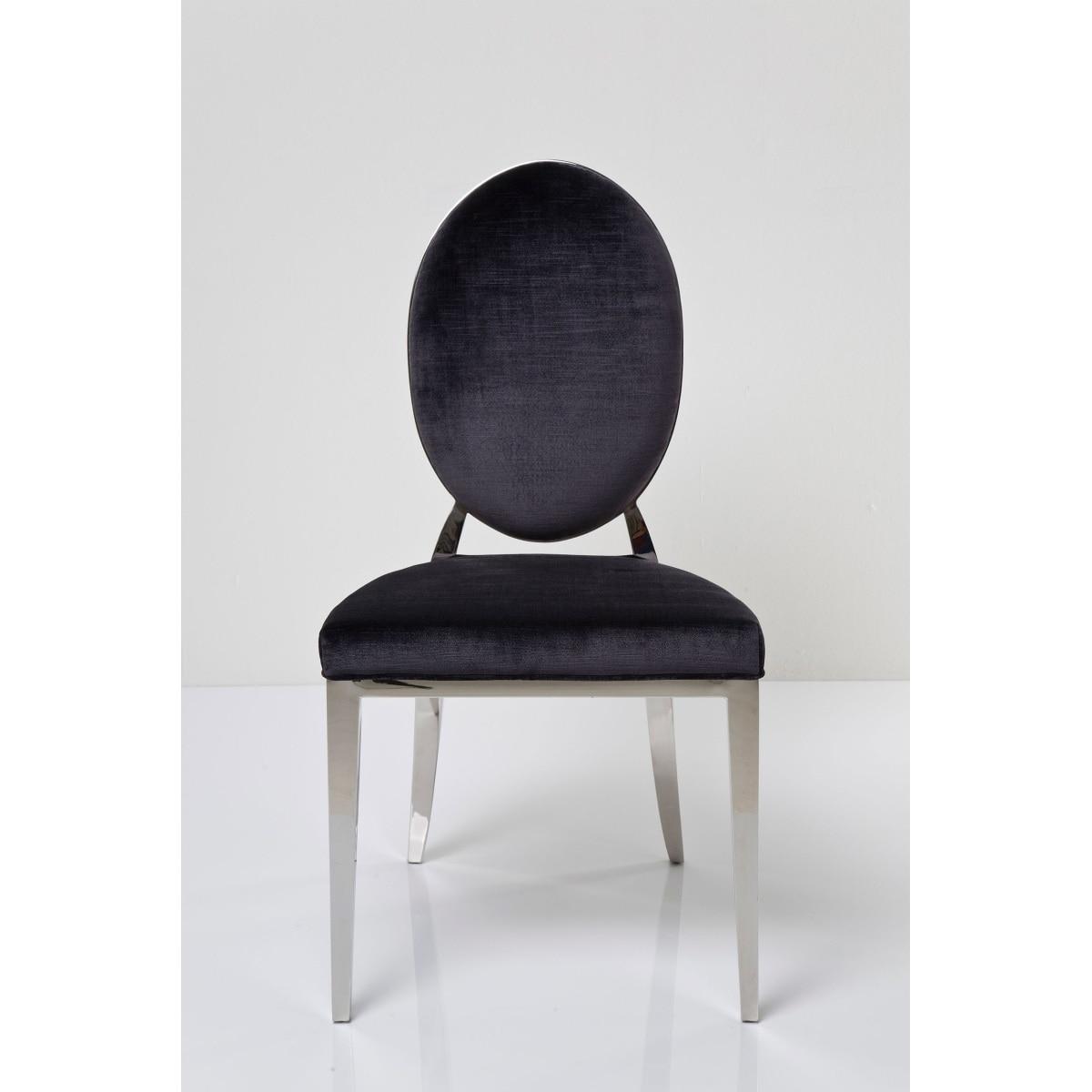stuhl mit gestell aus edelstahl porta porta m bel. Black Bedroom Furniture Sets. Home Design Ideas