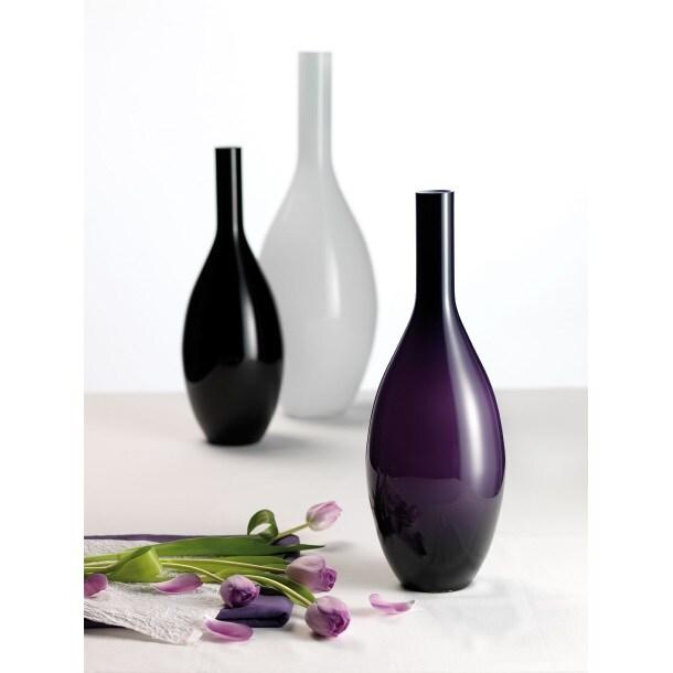 LEONARDO Vase BEAUTY 50 Glas SchwarzBild 3