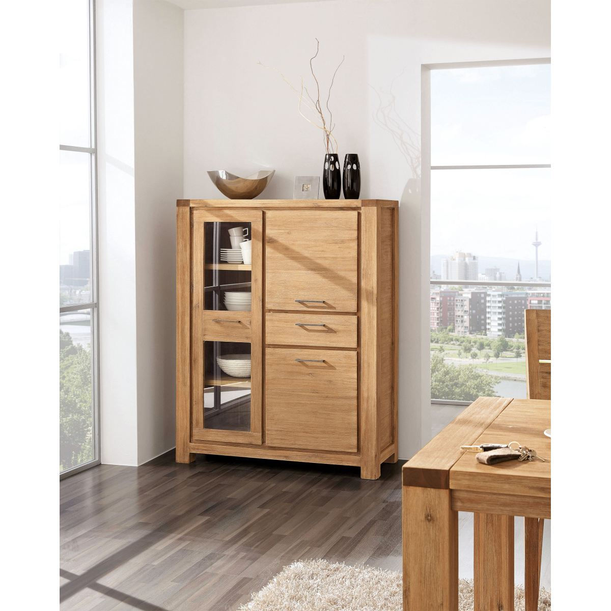highboard east porta porta m bel online kaufen. Black Bedroom Furniture Sets. Home Design Ideas