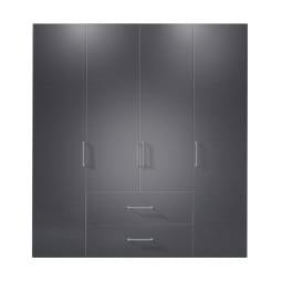 Kleiderschrank NEW JERSEY ADS-I 200 x 58 cm Graphit /Graphit