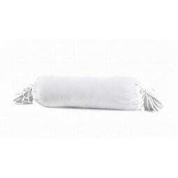 schlafgut Jersey-Nackenrolle-Hülle 15 x 40 cm weiß