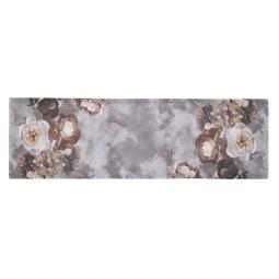 GÖZZE Tischläufer ABILENE 40 x 140 cm grau/silber